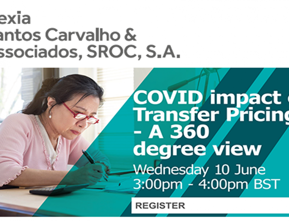 Nexia International Webinar | COVID impact on Transfer Pricing – A 360 degree view