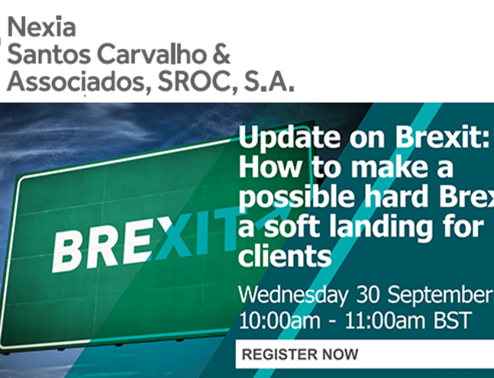 Nexia International Webinar | Update on Brexit: How to make a possible hard Brexit, a soft landing for clients