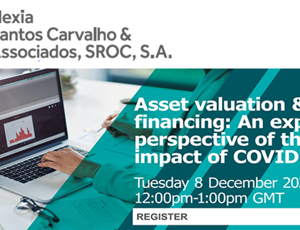 Nexia International Webinar | Asset valuation & financing: An experts perspective of the impact of COVID-19